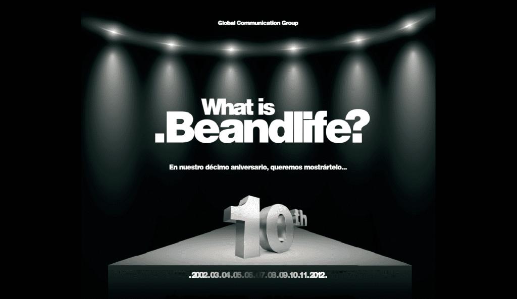 beandlife decimo aniversario