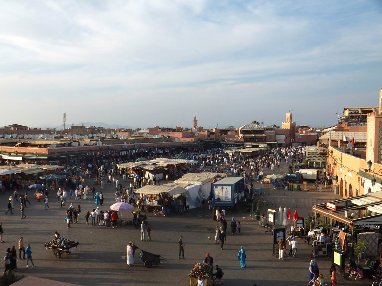 PLaza jamma el fna Marrakech