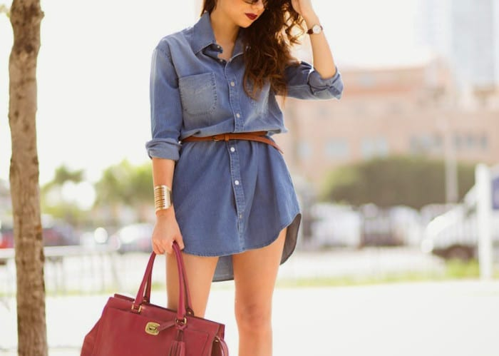 10-formas-llevar-vestido-vaquero-10-ways-to-wear-denim-dress-71