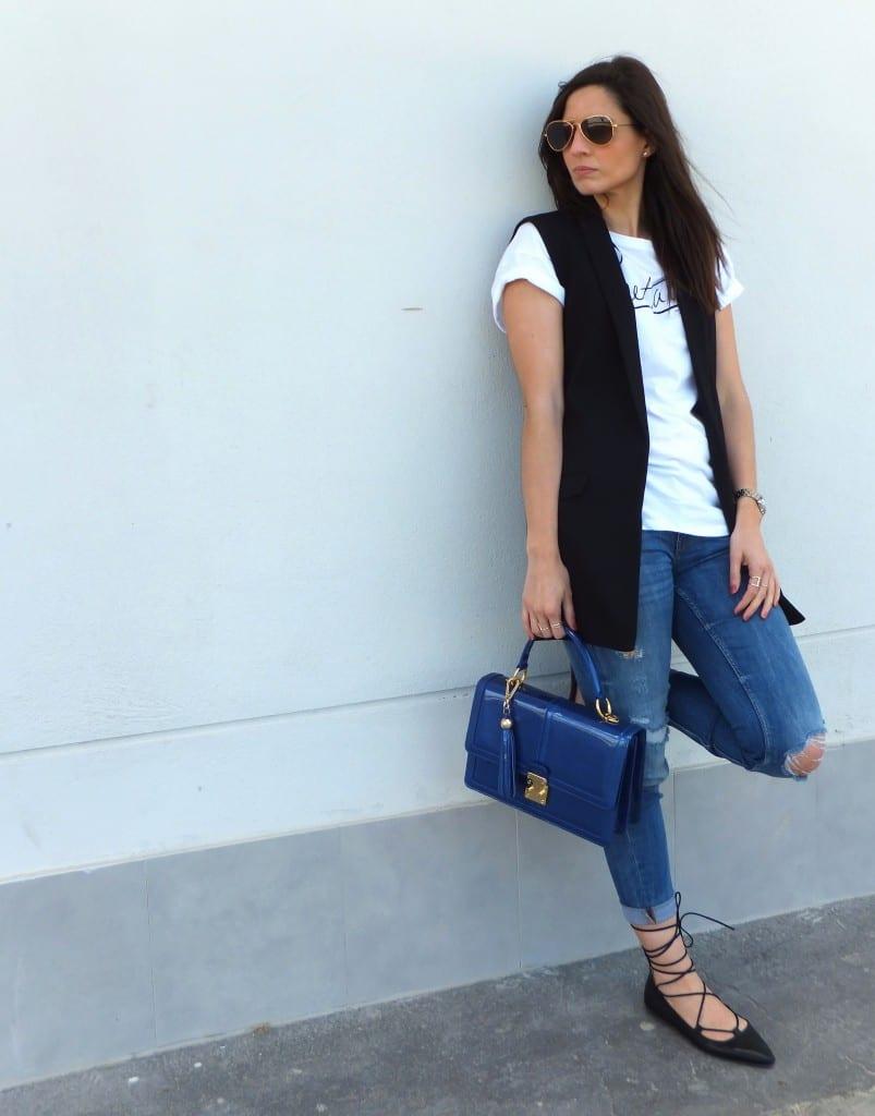 bolso de mano azul - barada luxury - bolsos de piel ubrique (3)