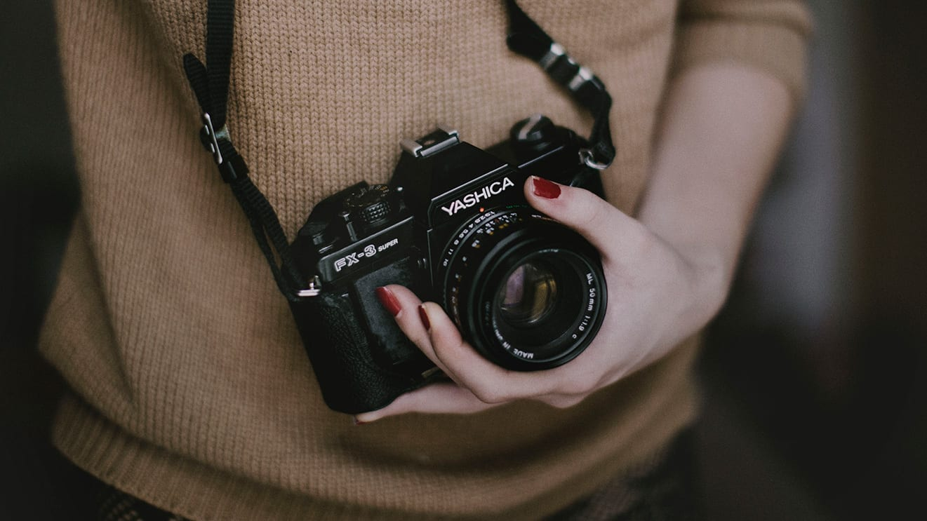 camara fotografía de moda