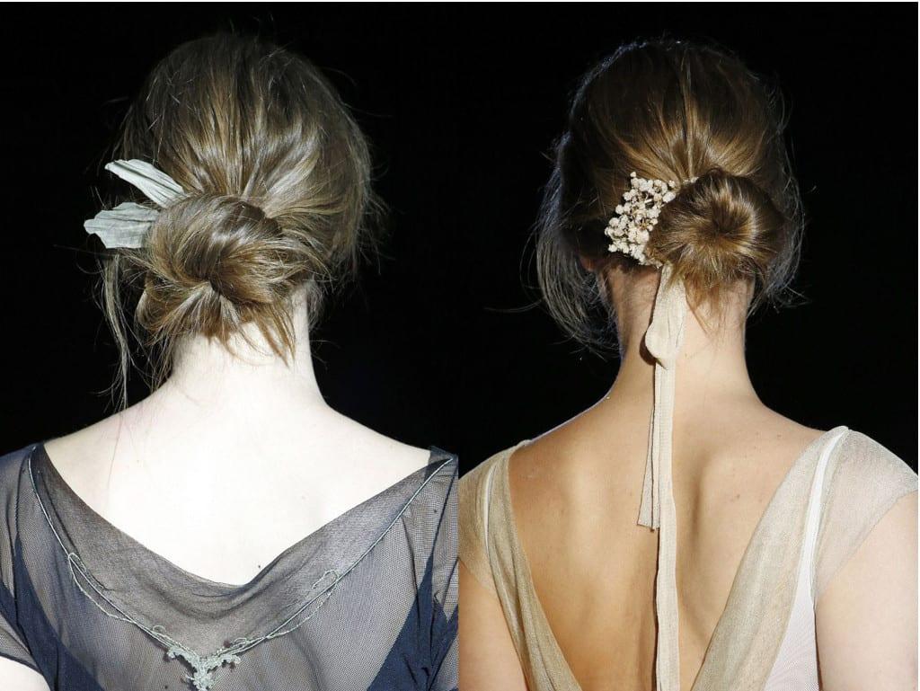 Peinados de novia 2016