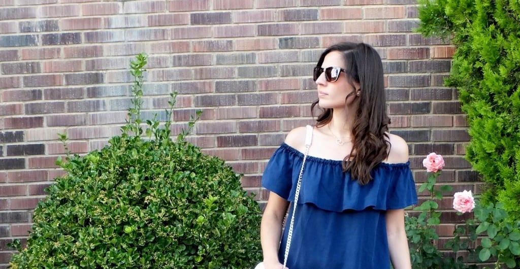 combinar vestido azul hombros descubiertos (2) copia