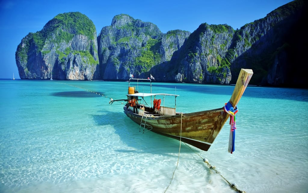 lugares para viajar tailandia