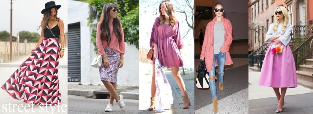 colores de moda 2015 otono invierno rosa