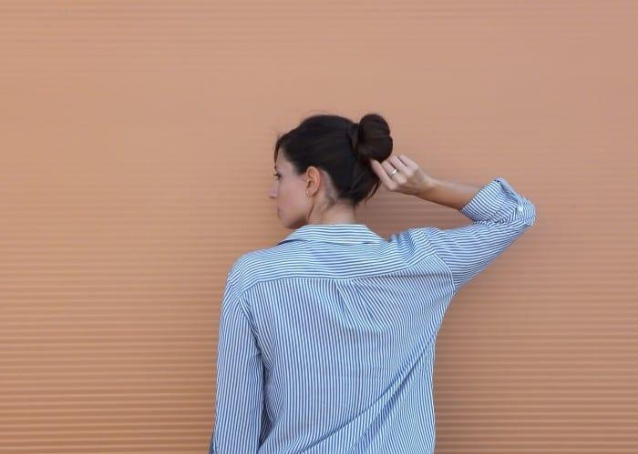 look sport con camisa de rayas  (25)