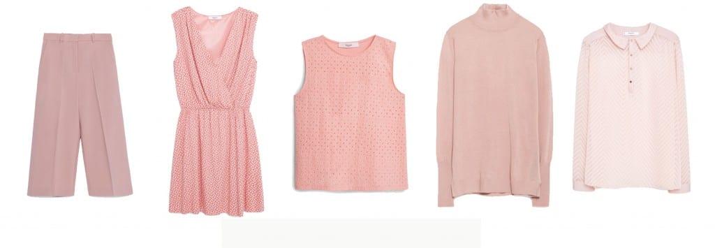 prendas color rosa 2015 comprar
