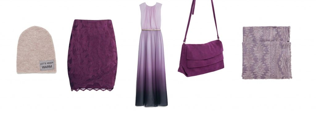 prendas color violeta zara