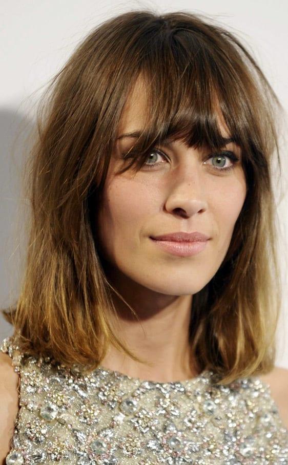 corte pelo moda - flequillo abierto