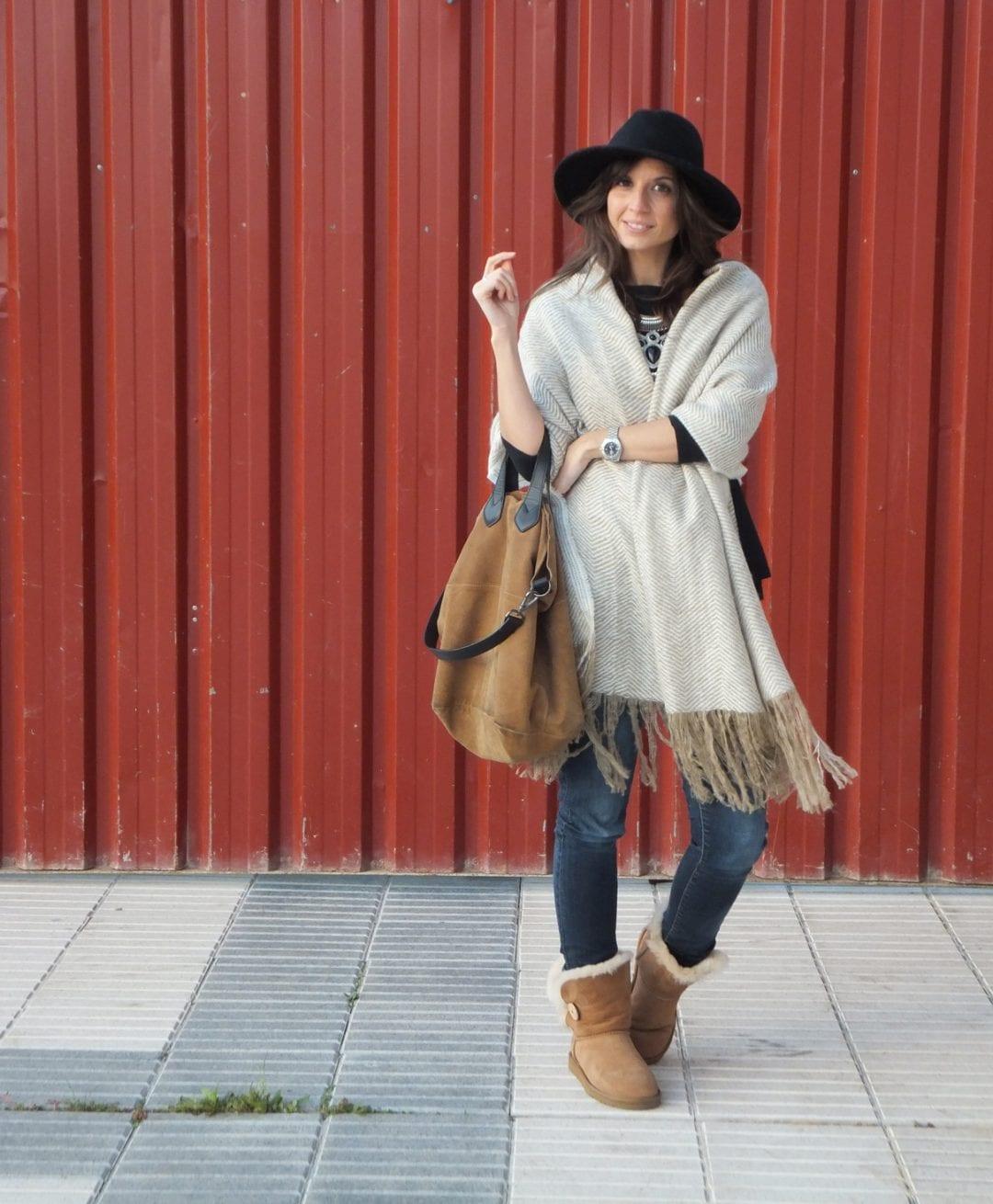 blogger con botas ugg bailey