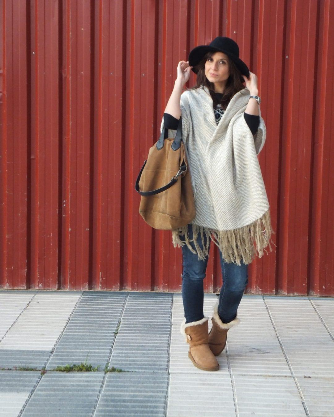 bloguera con botas ugg bailey