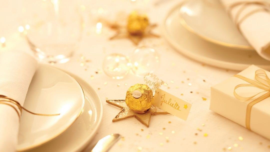 decoración con bombones Ferrero Rocher (5)