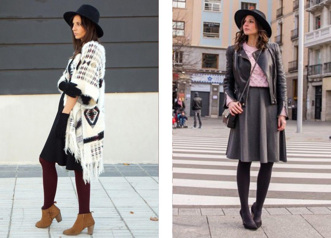 blogger de moda combinando sombrero fedora