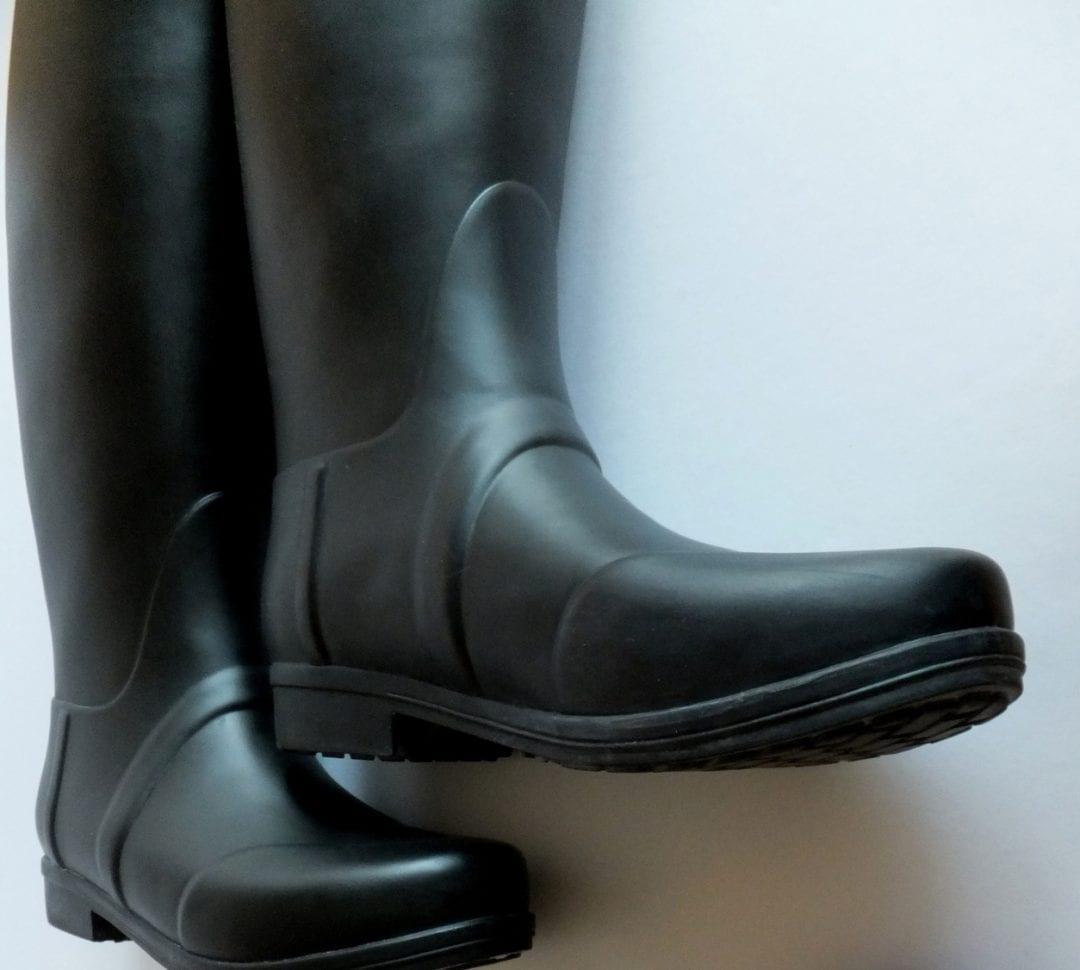 cómo limpiar botas de agua hunter con crema Nivea