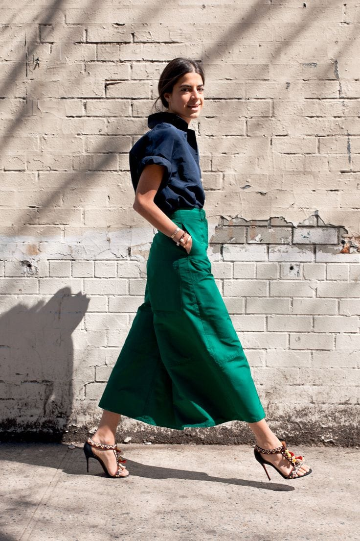 how to wear culottes o como combinar cullotes