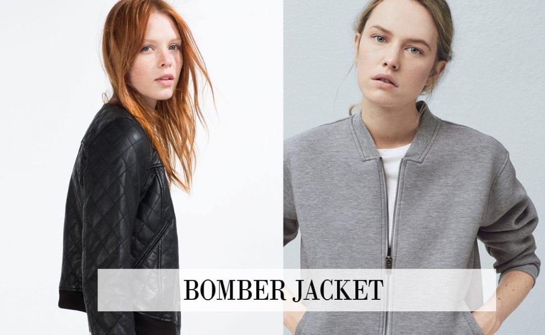 tendencias primavera verano 2016 BOMBER JACKET