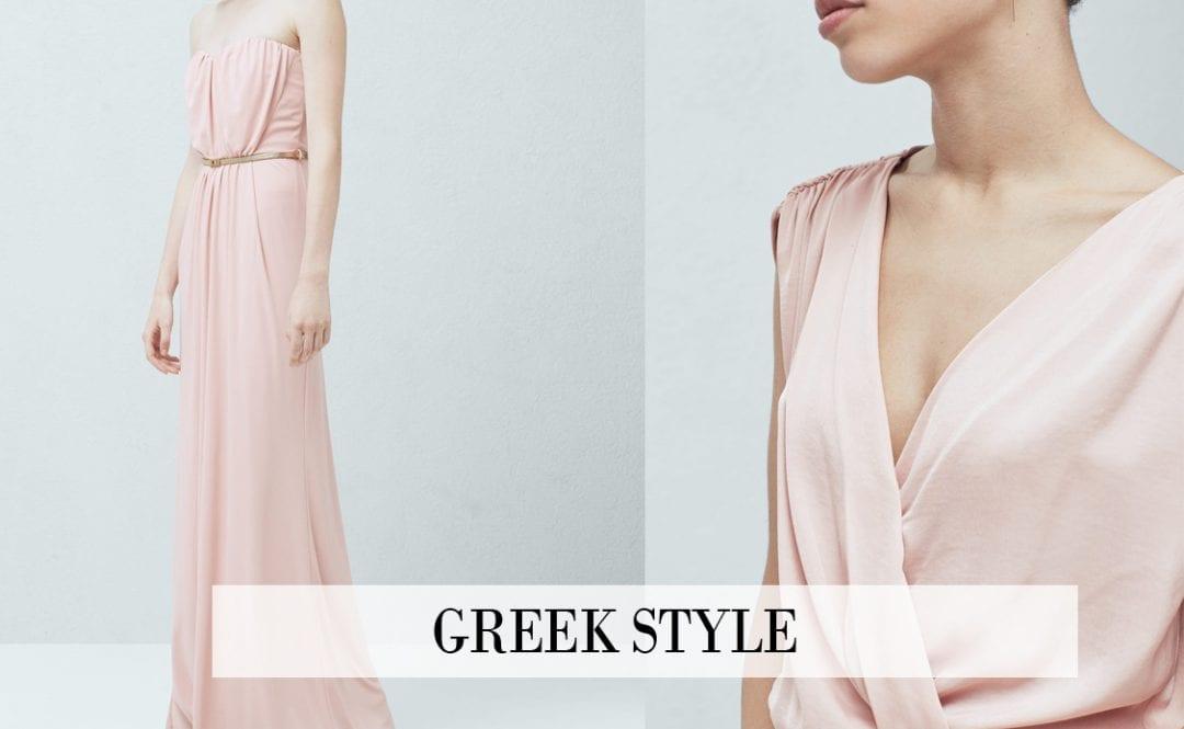 tendencias primavera verano 2016 estilo griego vestidos