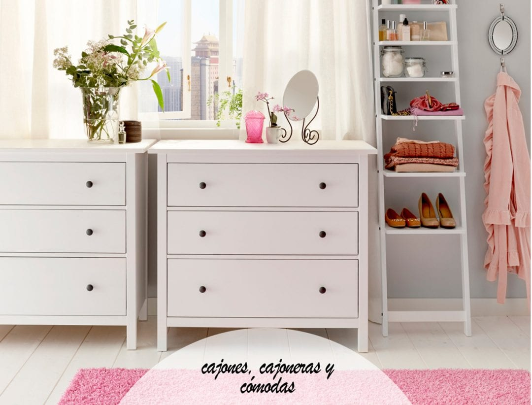 C mo organizar un dormitorio peque o y mantener el orden - Comodas dormitorio ikea ...
