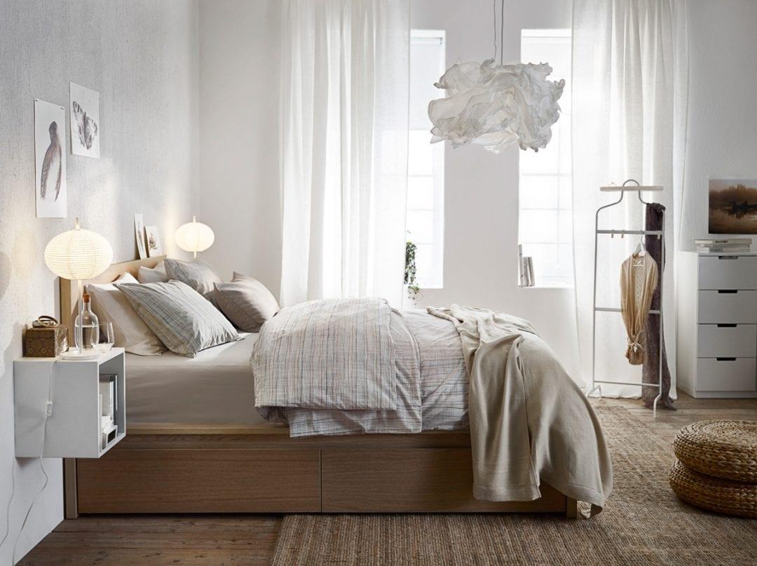 ideas para decorar y organizar un dormitorio pequeño