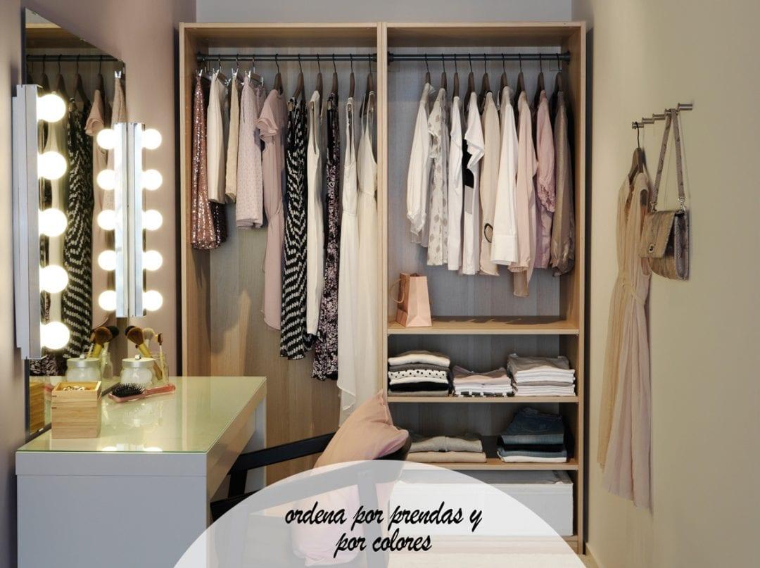 vestidor de ikea con armario y tocador