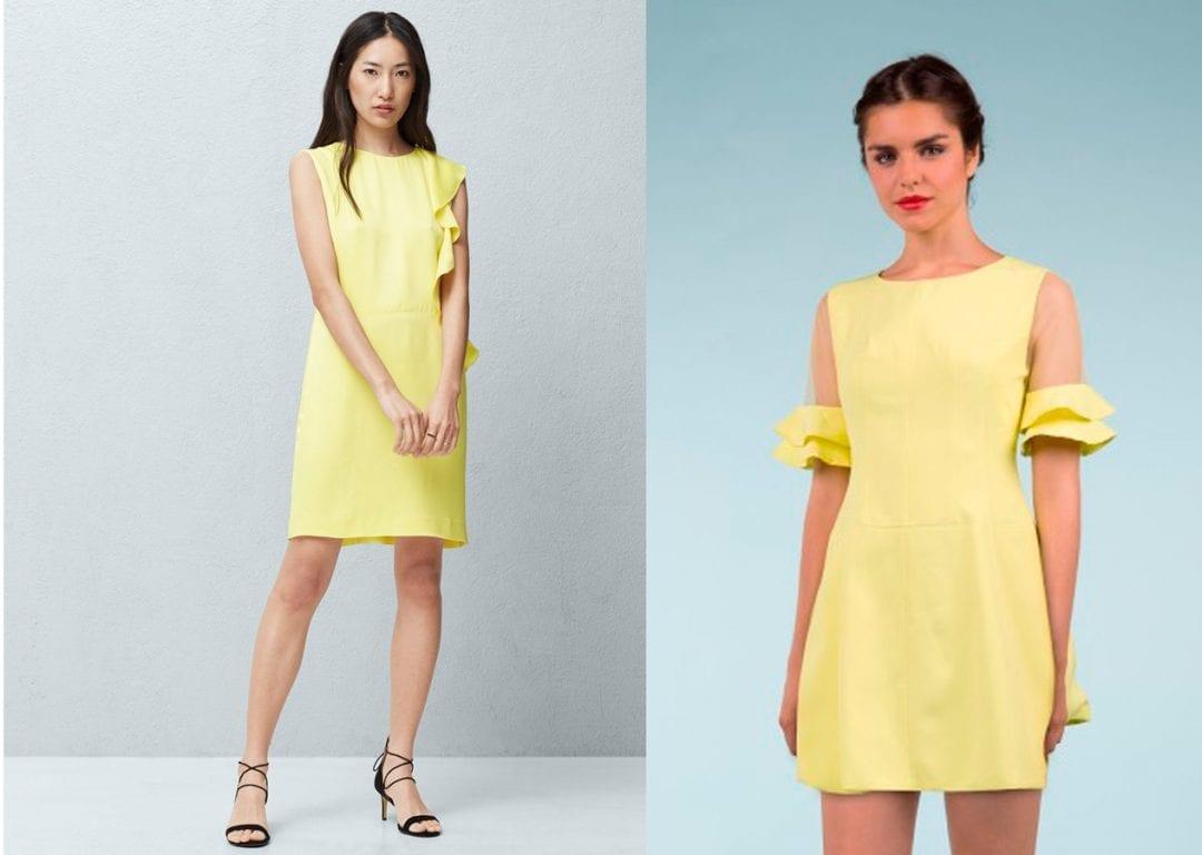vestidos amarillos para ir a una comunión
