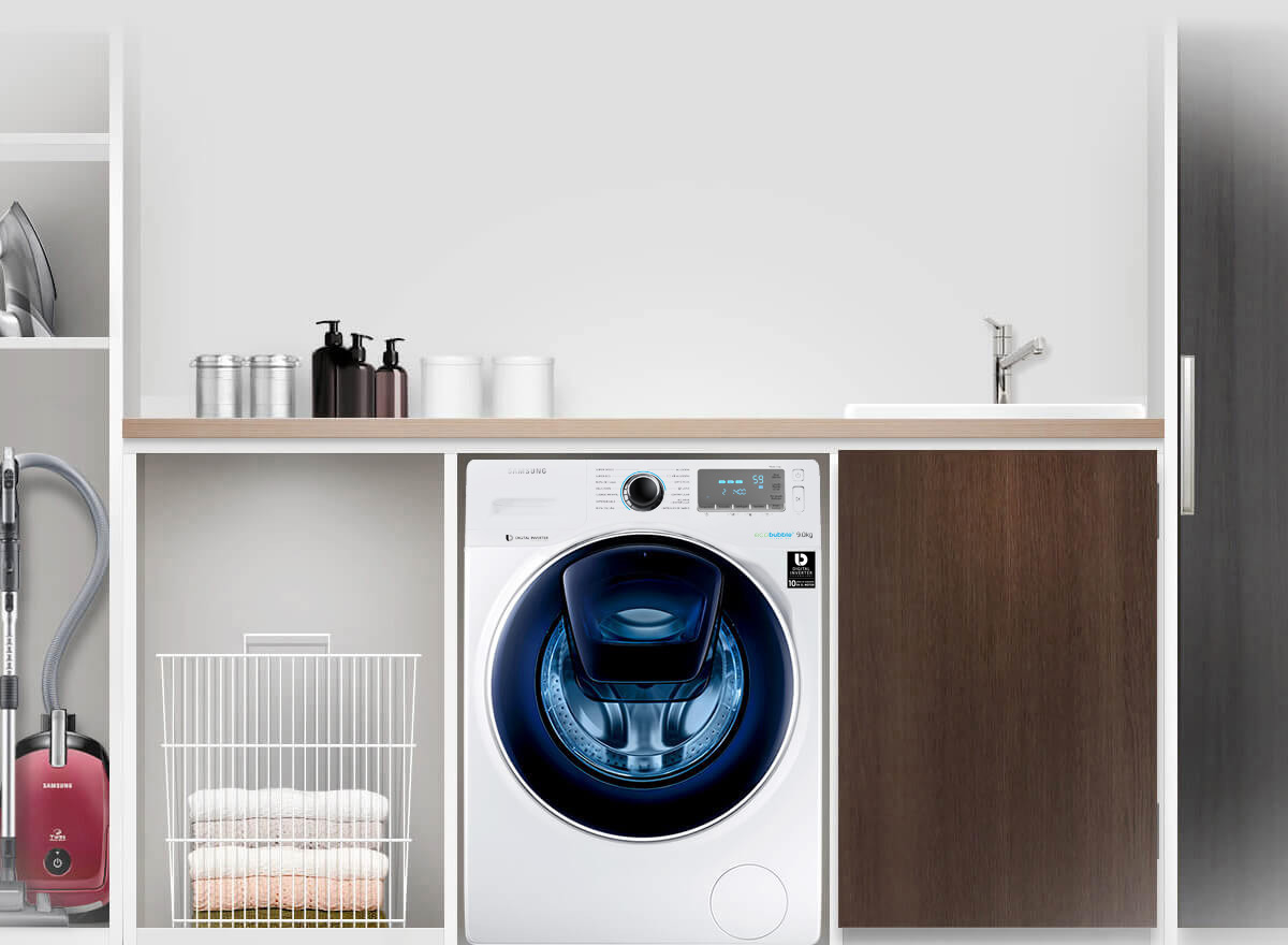 Lavadora Samsung addwash
