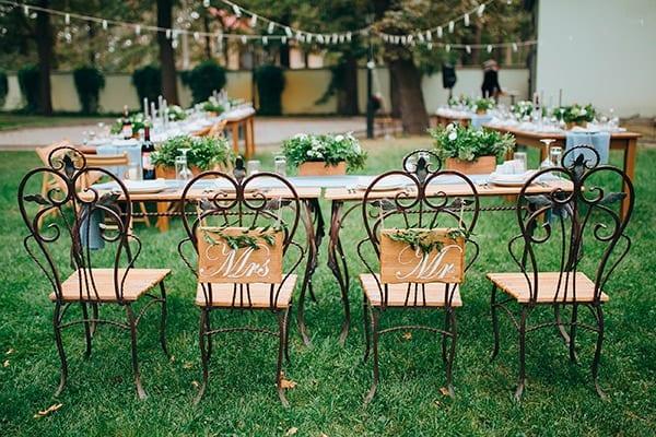 organiar una boda - el mesal o sitting