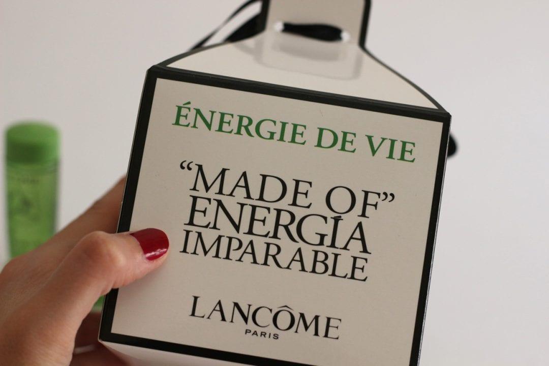Lancome Energie de Vie - Blog de moda y belleza