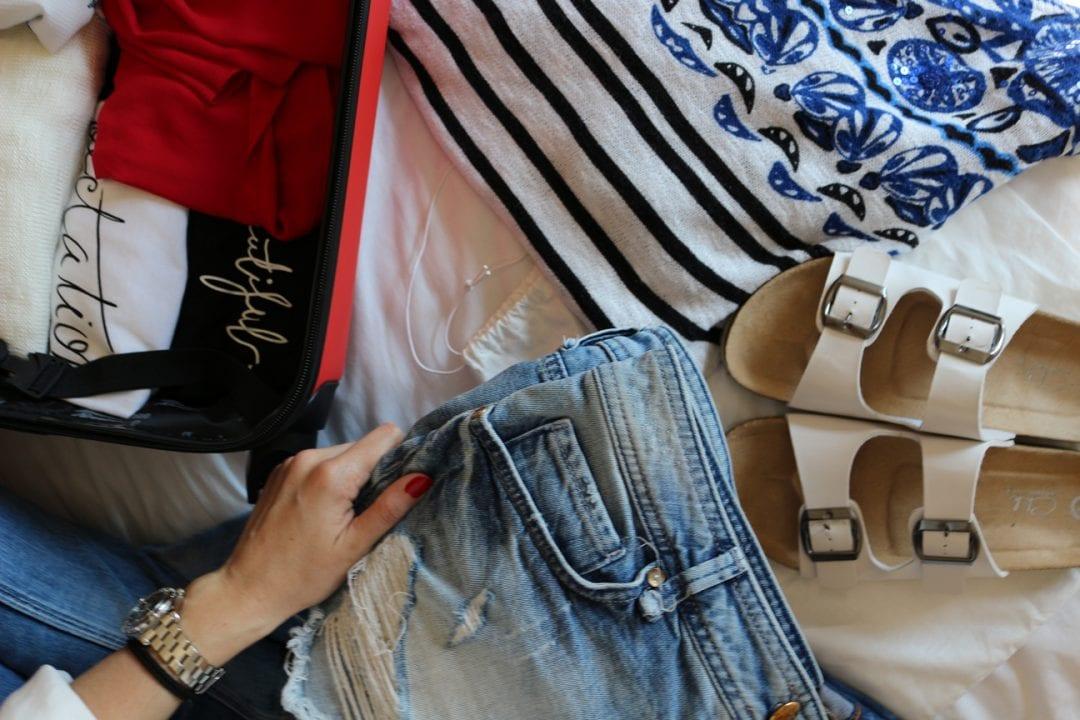 fashion blogger cómo hacer la maleta o equipaje de mano