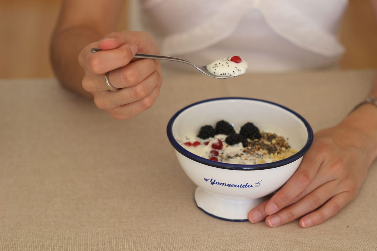 yogurt con semillas de chia