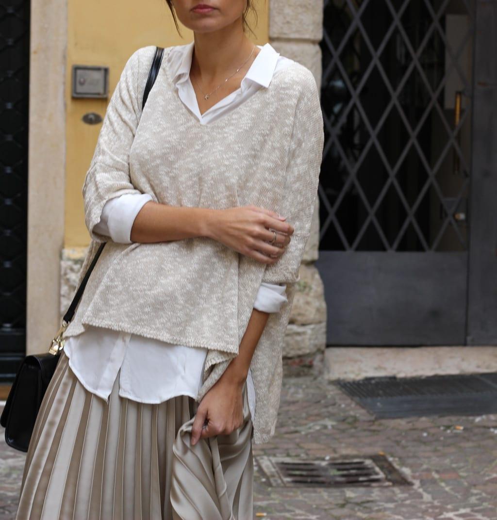 falda plisada outfit fashion blogger