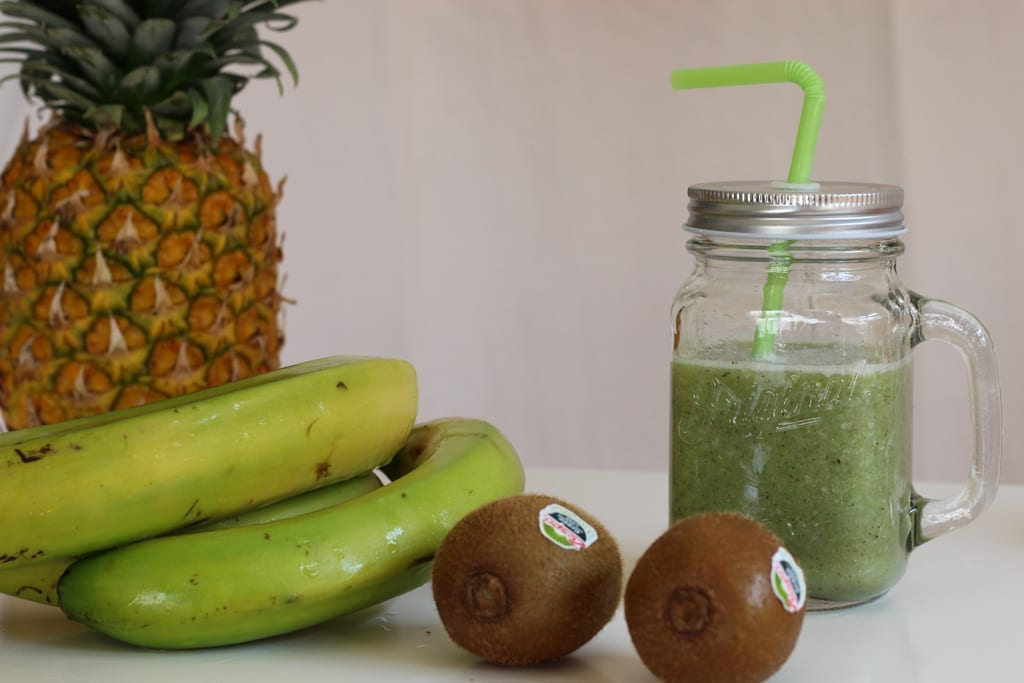 vida saludable receta smoothie kiwi zespri