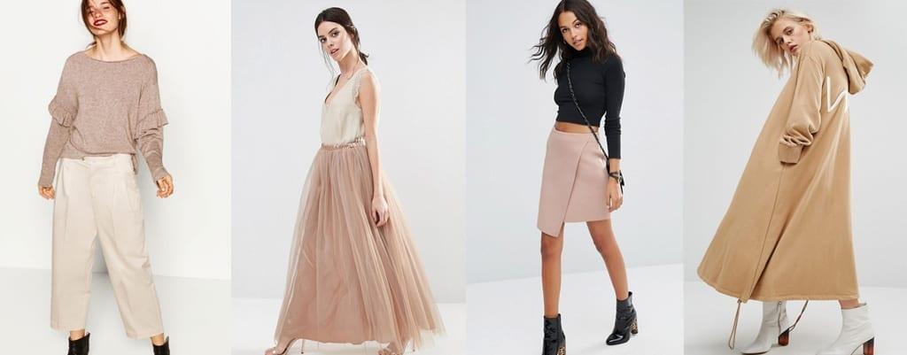 prendas colores de moda primavera verano 2017 hazelnut