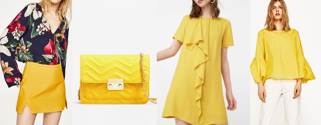 colores de primavera verano amarillo