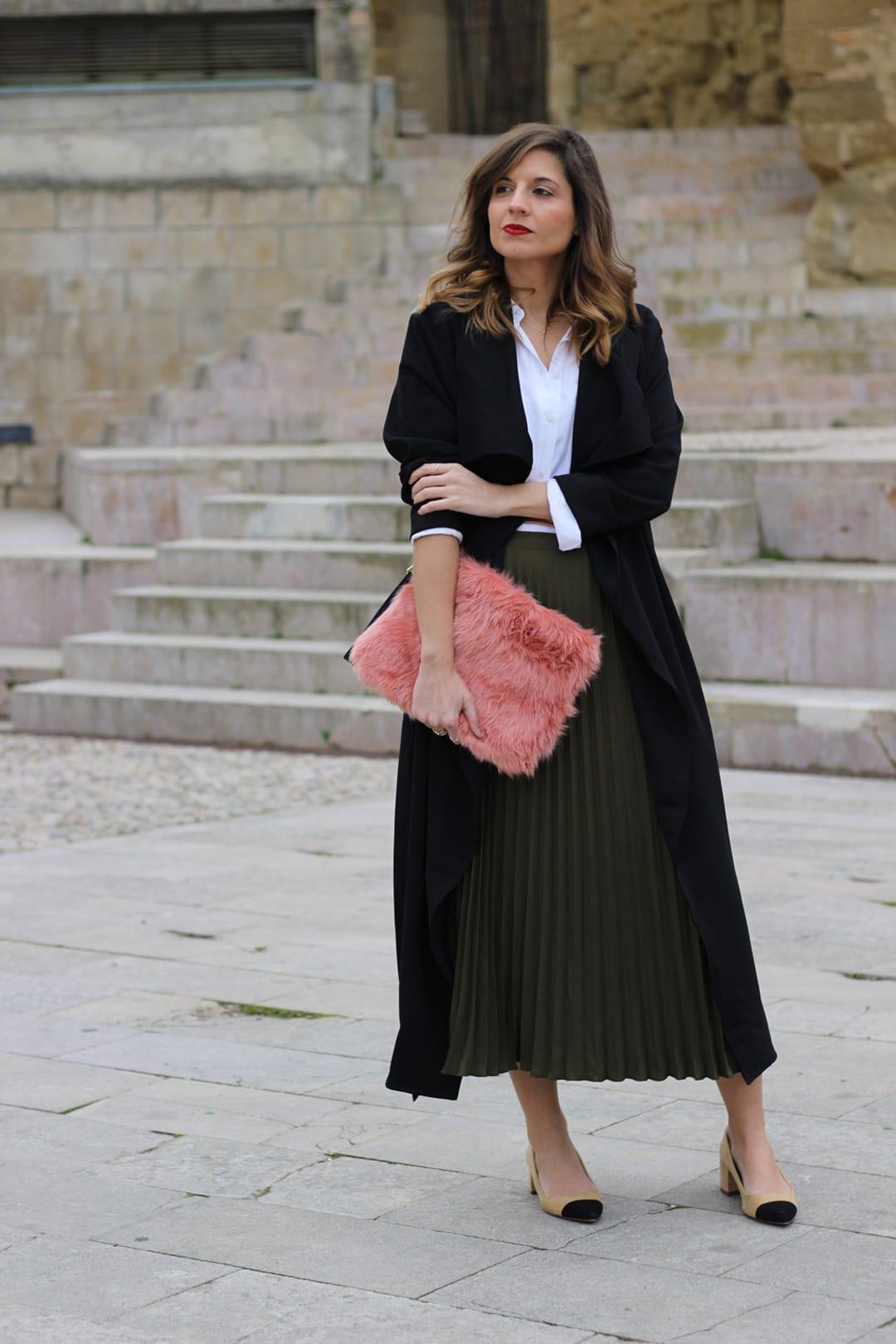 trench largo fluido shein blog moda infrontrowstyle