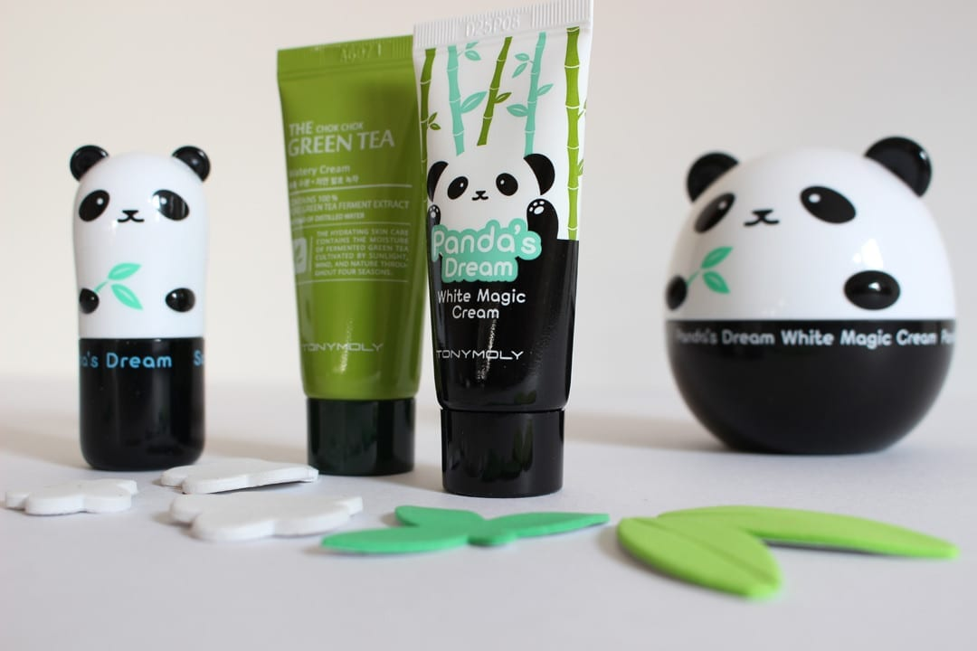 Tony Moly Pandas Dream white magic cream y Tony Moly cool stick blog belleza