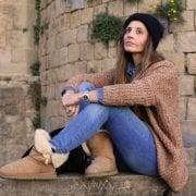 botas UGG Australia y jersey invierno mujer romwe blog moda opinion