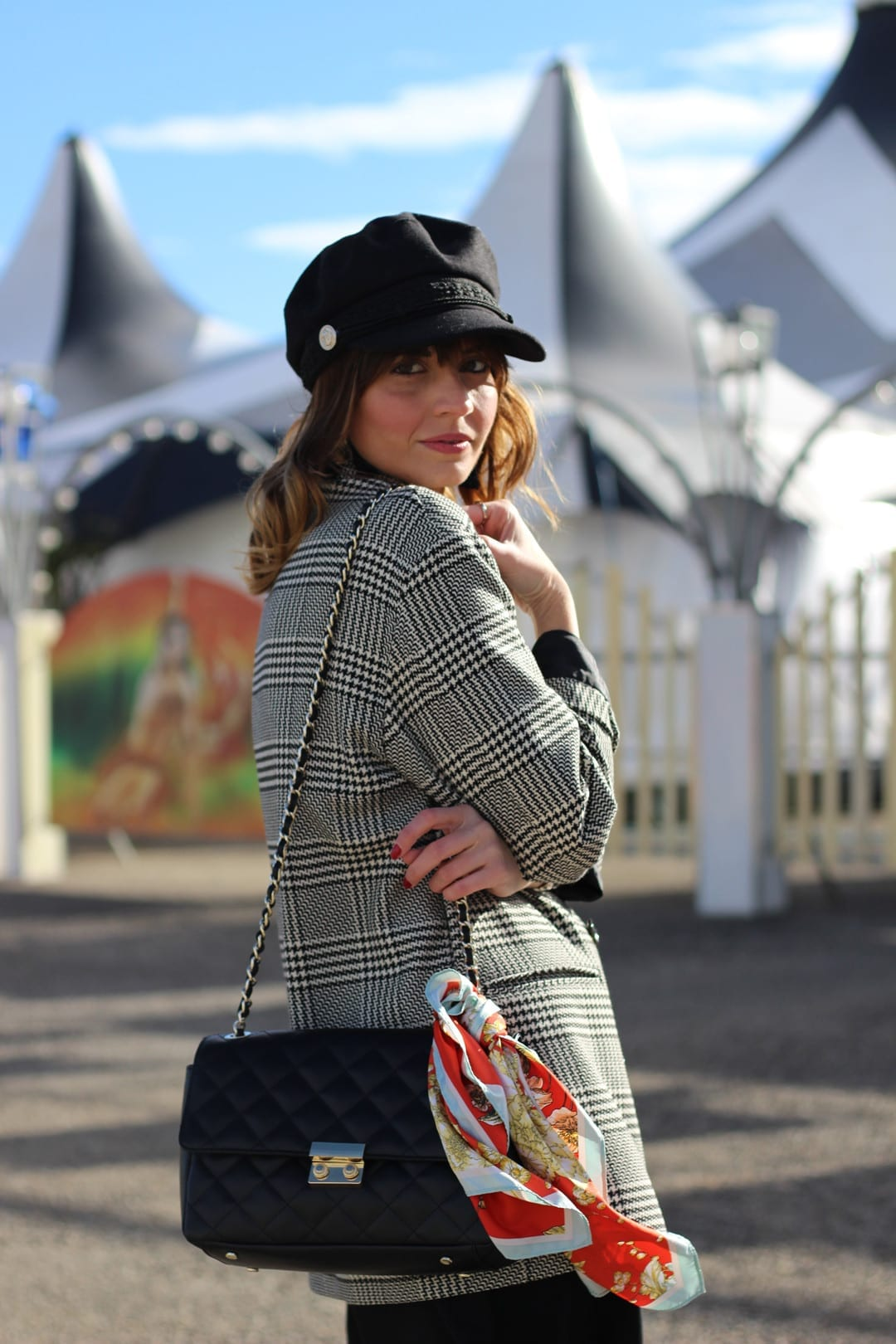 outfit gorra baker boy hat fashion blogger