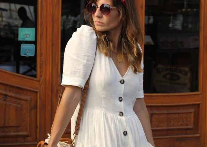 vestido blanco zara moda verano 2018