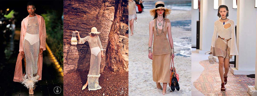 tendencias primavera verano 2019 vestidos de red