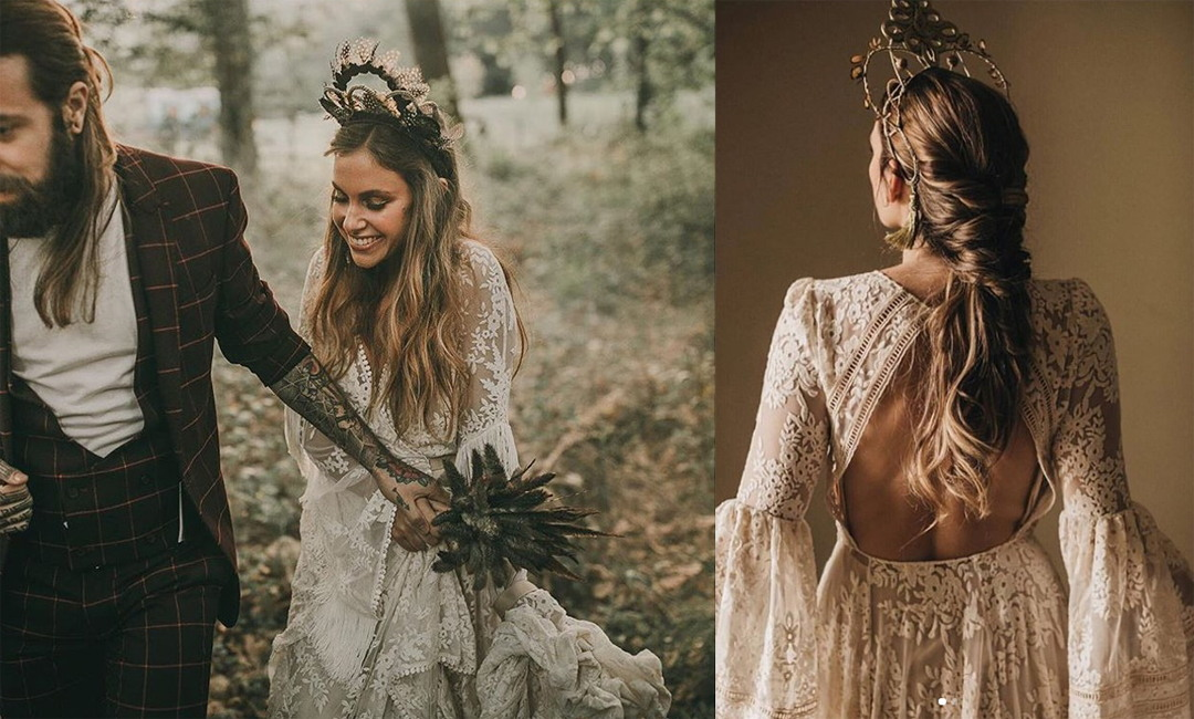headpieces for brides from verbena madrid