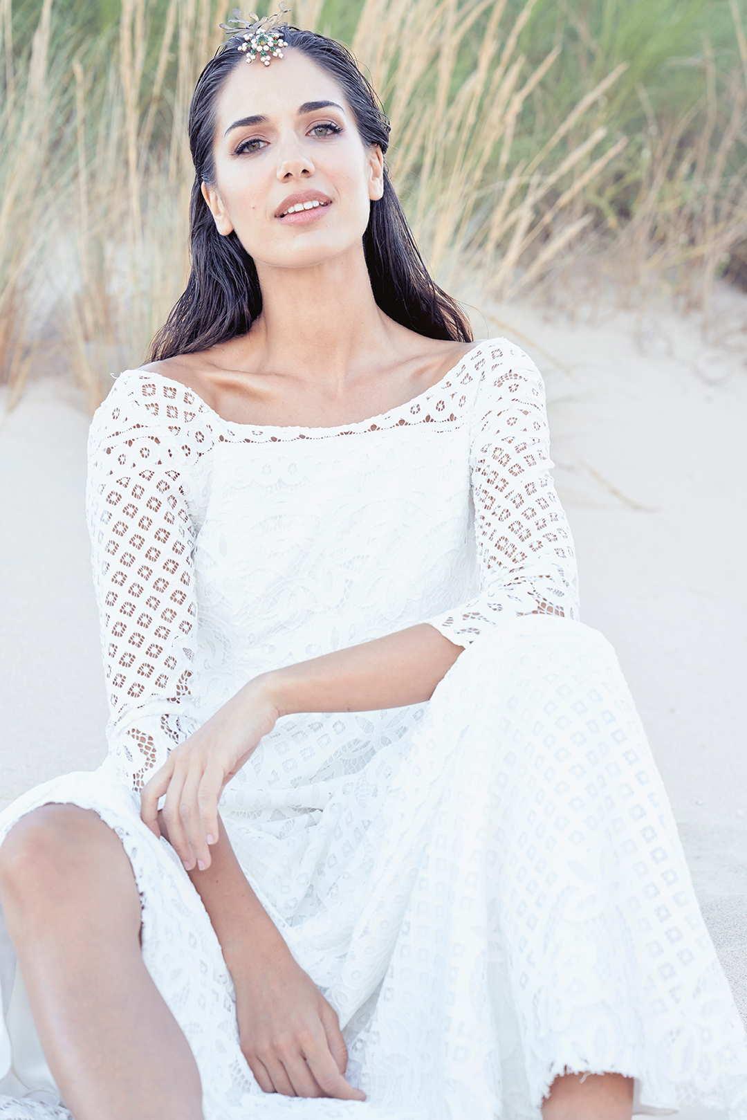 vestidos de novia Maria Baraza Colección 2019
