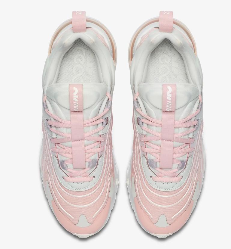Zapatillas Nike Air Max 270 React en color rosa novedad 2020
