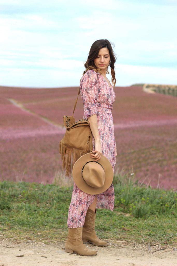 Aitona melocotoneros en flor bloguera de moda Fruiturisme