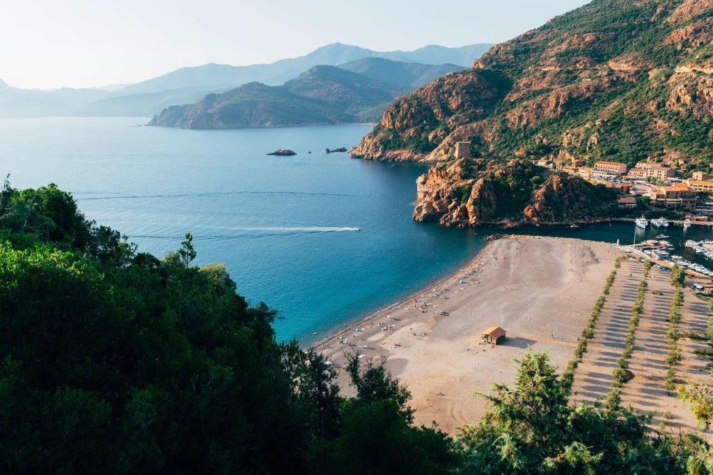 mejores playas de Córcega