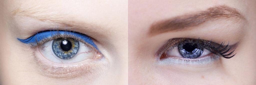 maquillaje de ojos tendencias 2020 lentillas de colores